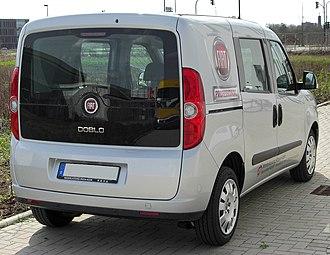 Fiat Doblò - Fiat Doblo (Europe)
