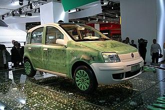 Fiat TwinAir engine - Fiat Panda Aria at IAA 2007