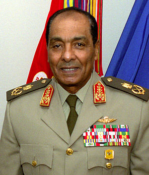 Supreme Council of the Armed Forces - Field Marshal Mohamed Hussein Tantawi, former Chairman of SCAF from 11 February 2011 until its dissolution on 30 June 2012