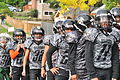 Fiestas Patrias Parade, South Park, Seattle, 2015 - 039 - Soldiers football team (20940067153).jpg