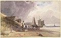 Figures on a Beach, Northern France MET DP110799.jpg