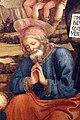 Filippo lippi, adorazione del bambino con s.vincenzo ferrera, 1455-1466, da s. domenico a prato 10.jpg