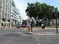 Finsbury Pavement junction with Finsbury Square (south side) and Chiswell Street view north 01.jpg