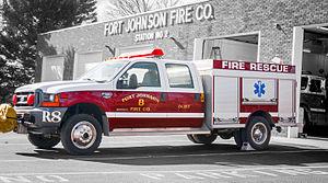 Fort Johnson Volunteer Fire Company - Image: Fire Company Rescue