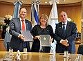 Firma del Acuerdo Bilateral sobre Servicios Aéreos entre Argentina e Israel 01.jpg