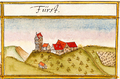 First, abgeg. Burg bei Öschingen, Mössingen, Andreas Kieser.png