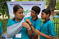 First Aid and Emergency Management Session - Summer Camp - Nisana Foundation - Sibpur BE College Model High School - Howrah 2013-06-08 9197.JPG