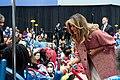 First Lady Melania Trump Visits Children's National Hospital (32440576438).jpg