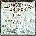 First Presbyterian Church Galveston Dedication Stone.jpg
