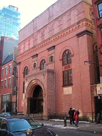 Romanian Americans - The First Roumanian-American Congregation on the Lower East Side of Manhattan. In 1998, the building was listed in the National Register of Historic Places.