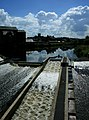 Fish ladder on Castleford Weir - geograph.org.uk - 872033.jpg