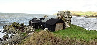 Lendalfoot - The old Salmon or Black Hut