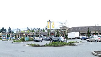 Fleetwood, Surrey - Fleetwood Town Centre mall along Fraser Highway near 160 Street