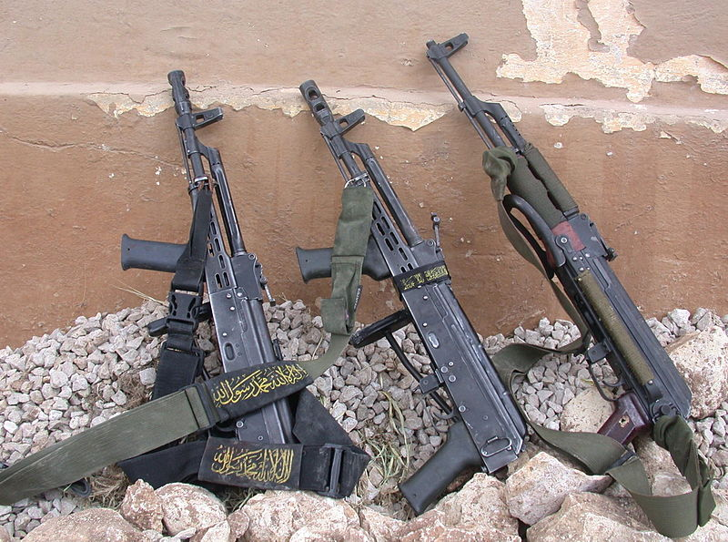 File:Flickr - Israel Defense Forces - Multiple Weapons Found on Neutralized Islamic Jihad Militants.jpg