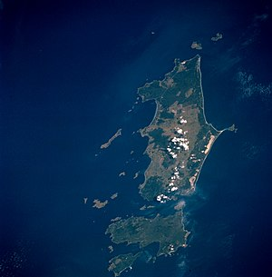 Flinders Island - The Furneaux Group as viewed from space, April 1993