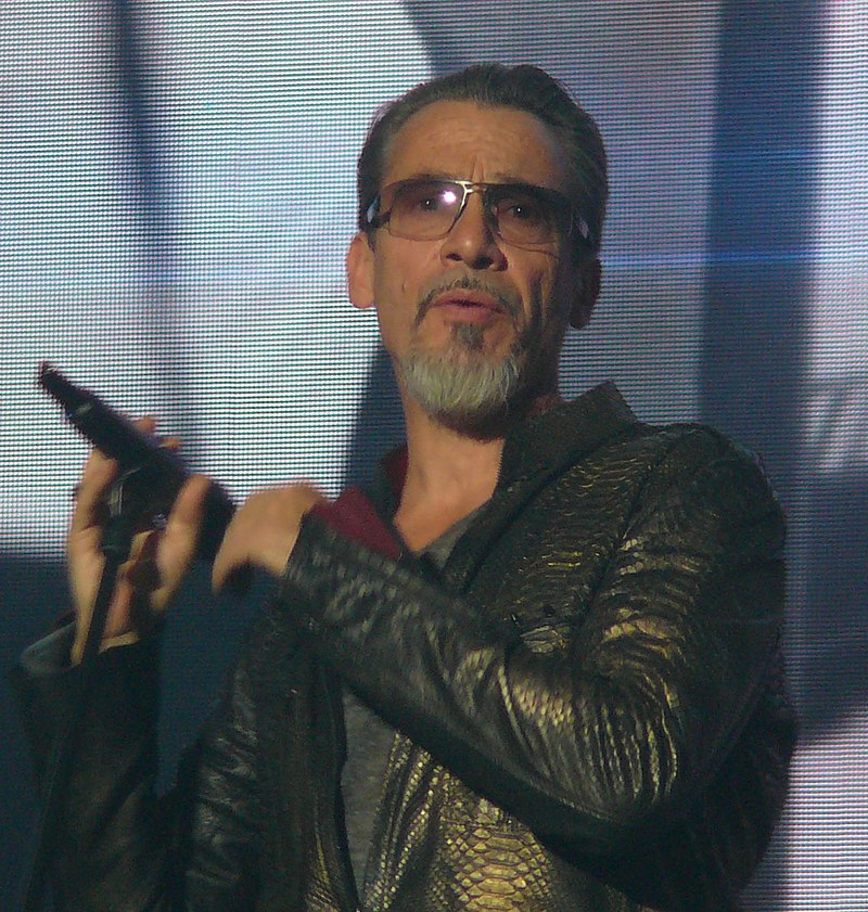 Le chanteur Florent Pagny au concert Forest National à Bruxelles en 2017 | Photo : Wikimedia.