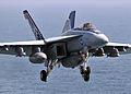 Flying over USS Abraham Lincoln DVIDS101705.jpg