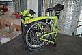 Folded Brompton bicycle, Bristol and Bath Science Park.jpg