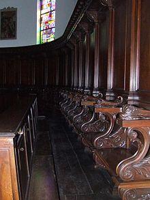 Il coro della Basilica del Monastero di Fonte Avellana