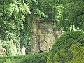 Fontenay Abbey - cliff face (35712249711).jpg