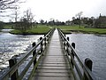 Footbridge over the River Wharfe at Bolton Abbey - geograph.org.uk - 624952.jpg