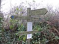 Footpath signs - geograph.org.uk - 1607130.jpg