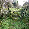 Footpath stile out Penderleath Common. - panoramio.jpg