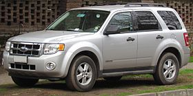 ford escape 2008 hybrid specs