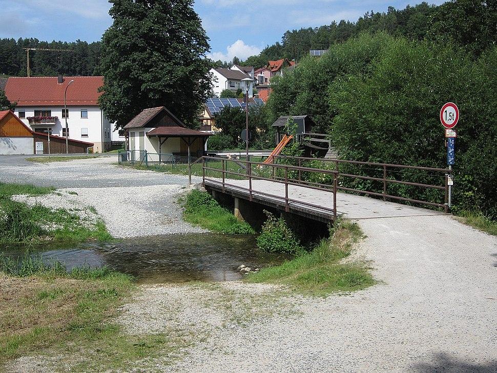 Ford next to bridge Aufsess