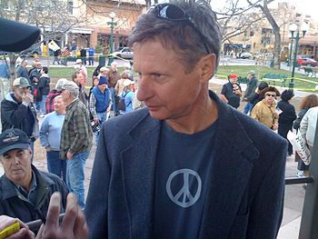 Former Gov. Gary Johnson