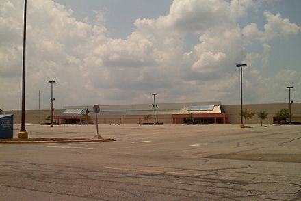 cf3c8b9144e79 The exterior of the first Super Kmart Center store in Medina