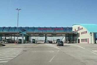 Jarovce - Former Jarovce border crossing