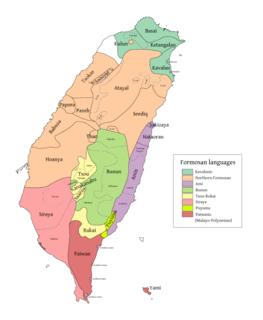 Kavalan language East Formosan language of Taiwan