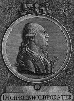 Johann Reinhold Forster - Johann Reinhold Forster