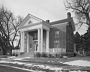 Fort D.A. Russell (Wyoming) - Commanding Officer's Quarters, Fort David A. Russell