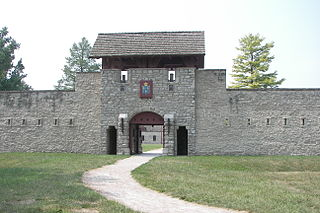 Fort de Chartres place in Illinois on the National Register of Historic Places