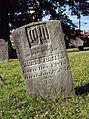 Foster (Ross), St. Clair Cemetery, 2015-10-06, 02.jpg
