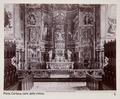 Fotografi av koret i kyrka i Pavia, Italien - Hallwylska museet - 103114.tif