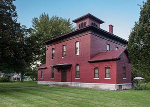 Fourth Ward School (Seneca Falls, New York) - Fourth Ward School in August 2013.