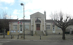 Périgny, Val-de-Marne - The town hall of Périgny