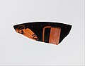 Fragment of a terracotta kylix (drinking cup) MET DP120258.jpg