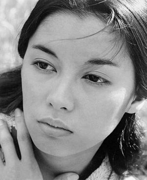 France Nuyen - France Nuyen in Satan Never Sleeps, publicity still (1962)