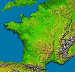 Frankrikes Geografi Wikipedia