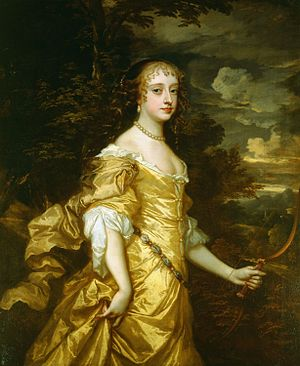 Frances Stewart, Duchess of Richmond - Frances Teresa Stuart by Sir Peter Lely, 1662-65.