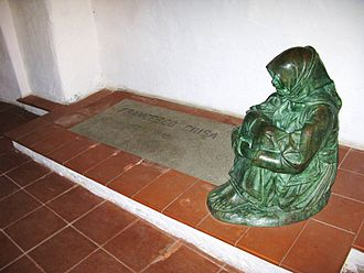 Francesco Ciusa - The Ciusa's grave decorated with one of his sculptures