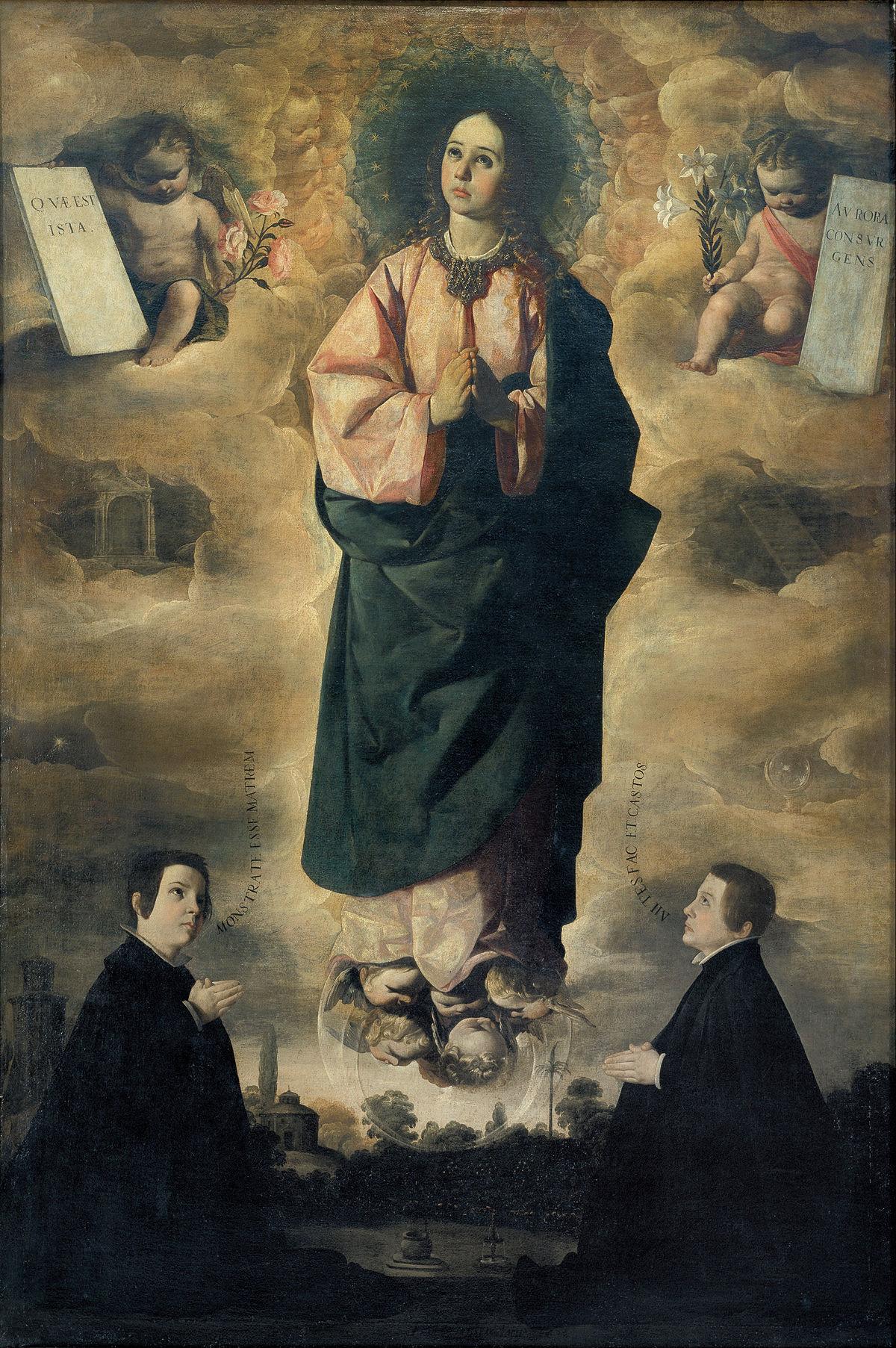 Immaculate Conception (Zurbarán) - Wikipedia