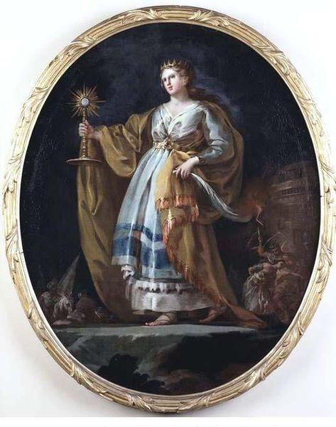 La herejía Satánica de Santa Barbara 473px-Francisco_goya_santa_barbara