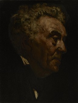 Frank Duveneck - Portrait of an Old Man
