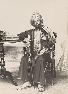 Sultan Said Ali bin Said Omar of Grande Comore (1897)