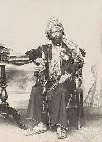 Grande Comore - Sultan Said Ali bin Said Omar of Grande Comore (1897).
